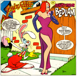 Комиксы джессика рэббит