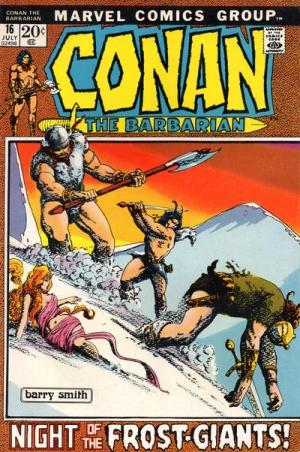 USA,1973 Barry Smith Conan the Barbarian # 22